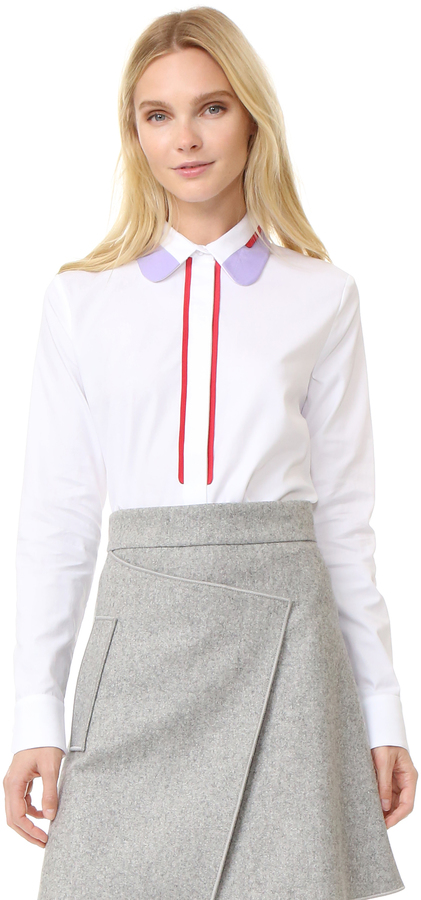 Carven Carven Long Sleeve Blouse