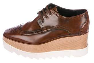 Stella McCartney Vegan Leather Elyse Platform Oxfords
