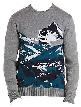 Lacoste Men's Mountain Print Sweatshirt