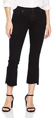Black Orchid Women's Cindy Slant Jean