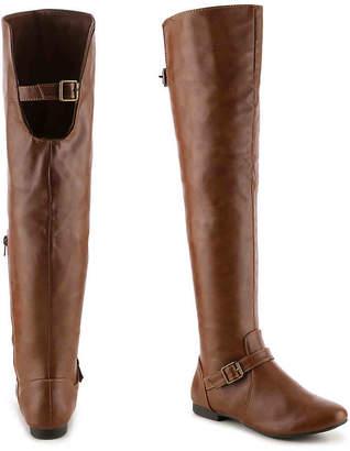 59471e5c12 Journee Collection Loft Over The Knee Boot - Women's