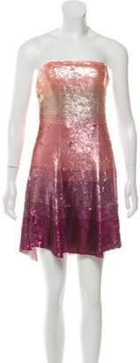 Jenny Packham Silk Sequined Dress
