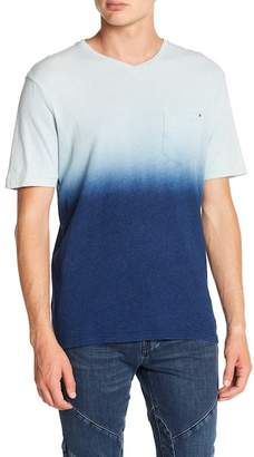 Report Collection Dip Dye V-Neck Tee
