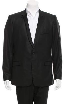 Versace Wool-Blend Tuxedo Jacket