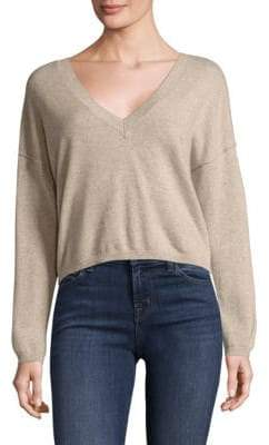J Brand Josey Cropped Cashmere Sweater
