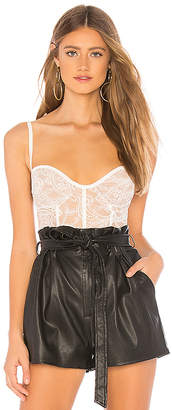 For Love & Lemons Belle Corset Bodysuit