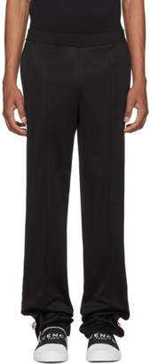 Givenchy Black Logo Band Lounge Pants