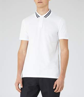 Reiss Phantom Piped Polo Shirt