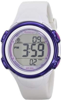 Armitron Sport Women's 45/7037WHT Sport Watch with Band