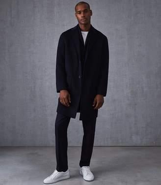Reiss Camelot Wool Longline Overcoat