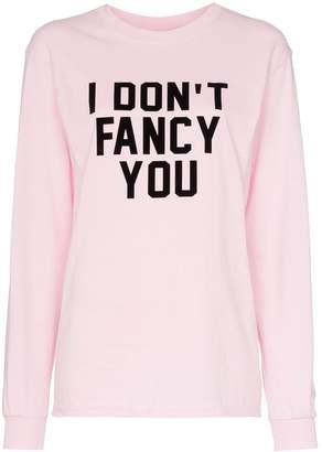 Ashish x Browns I Don't Fancy You slogan jersey top