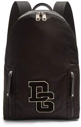 Dolce & Gabbana Logo-applique zip-around backpack