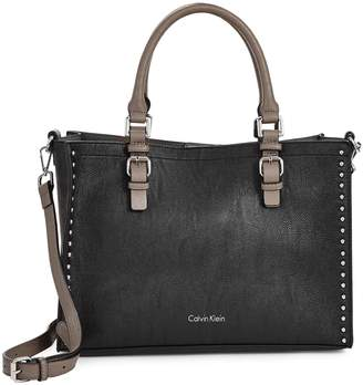 Calvin Klein Studded Unlined Tote Bag
