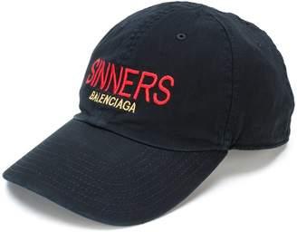 Balenciaga Sinners baseball cap