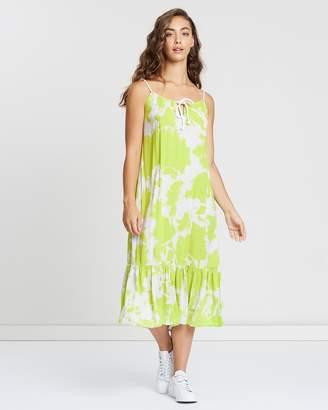 Bondi Frill Maxi Dress