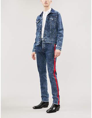 Givenchy Acid wash denim jacket