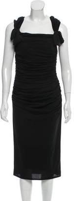 Giambattista Valli Ruched Midi Dress w/ Tags