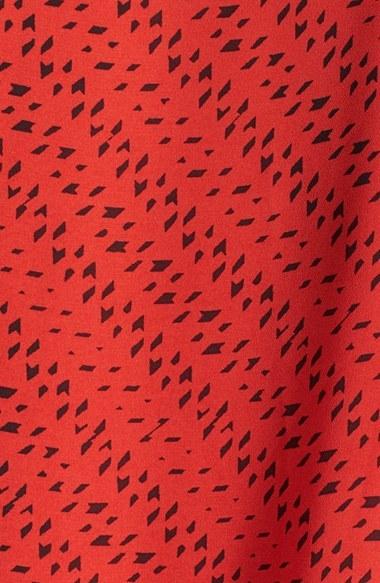 Vince Camuto 'Graphic Specks' Faux Wrap Front Blouse