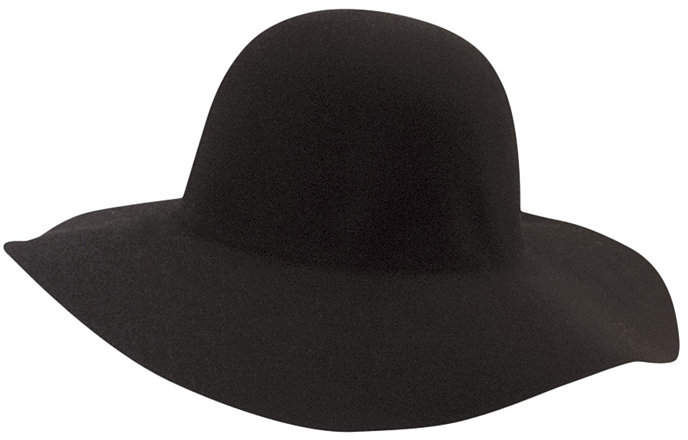 Scala Big Brim Wool Felt Hat