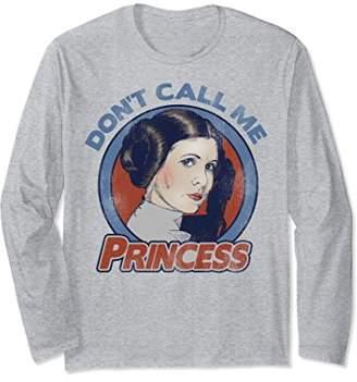 Star Wars Leia Don't Call Me Princess Long Sleeve Tee