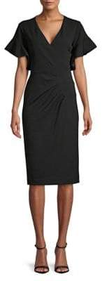 Rachel Roy Capri Ruffle Sheath Dress