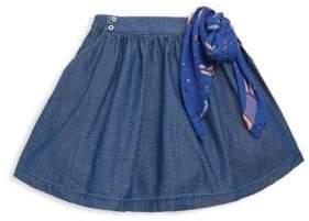 Catimini Little Girl's & Girl's Dot-Print Skirt