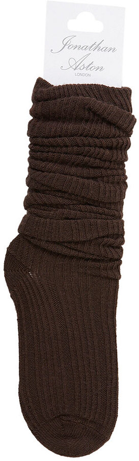 Luxury Rib Knee High Sock