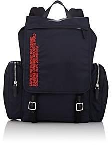 Calvin Klein Men's Flap Backpack-Black