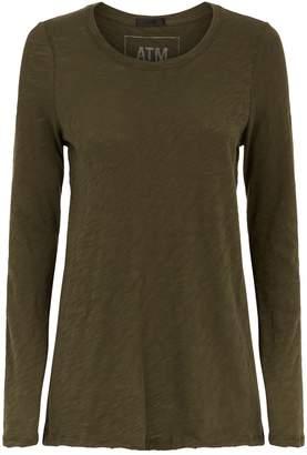 ATM Anthony Thomas Melillo Slub Jersey Long Sleeve T-Shirt