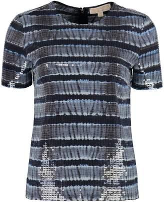 Michael Kors T-shirt With Transparent Sequins