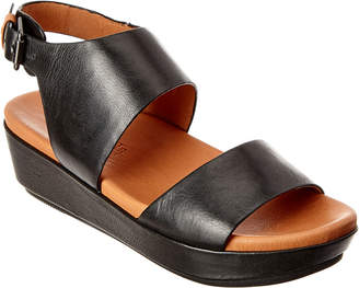 Gentle Souls Lori Leather Wedge Sandal