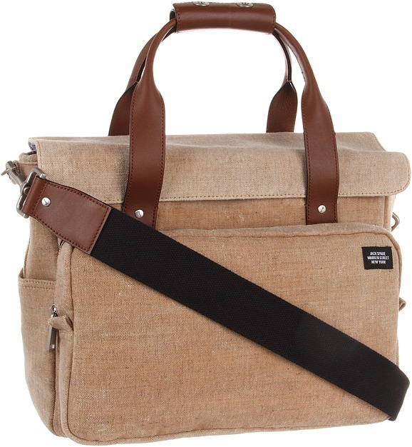 Jack Spade Survey Bag (Natural) - Bags and Luggage
