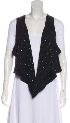 Joie Suede Embellished Vest w/ Tags