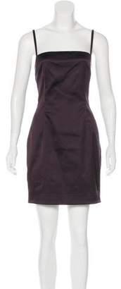 Dolce & Gabbana Satin Mini Dress w/ Tags