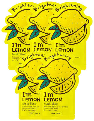 Tony Moly Tonymoly I'm Lemon Sheet Mask 5 Pack