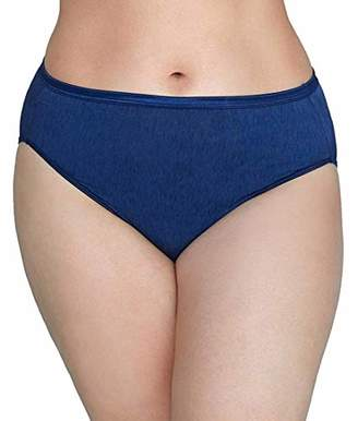 Vanity Fair Women's Illumination Hi Cut Plus Size Panty 13810