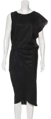 Zero Maria Cornejo Short Sleeve Midi Dress