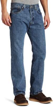 Levi's Men's 501 Original Fit Jean, Medium Stonewash, 33x30