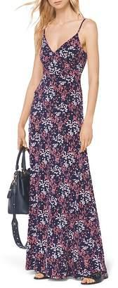 MICHAEL Michael Kors Bloom Print Maxi Dress