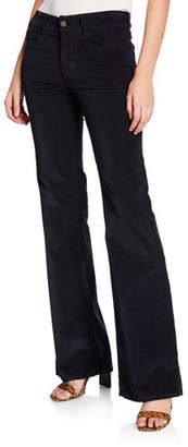 Notify Jeans Dahlia High-Rise Velvet Flare Jeans