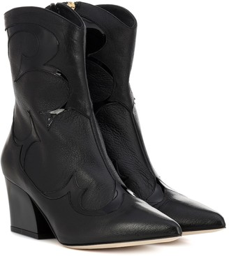 Tibi (ティビ) - Tibi Felix leather cowboy boots