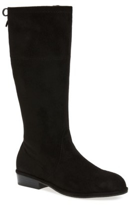 Girl's Stuart Weitzman Lowland Bow Riding Boot $60 thestylecure.com