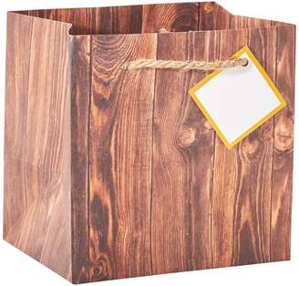 Indigo Small Gift Bag Woodgrain