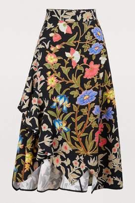Peter Pilotto Printed midi skirt