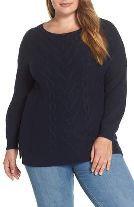 Lucky Brand Cable Pullover Sweater