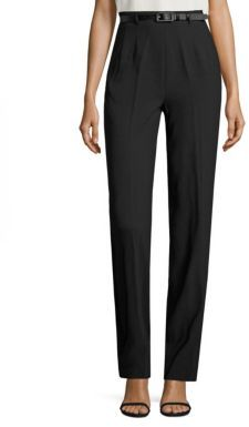 Polo Ralph Lauren Wide-Leg Tuxedo Pants $345 thestylecure.com