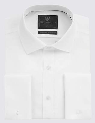 Marks and Spencer Pure Cotton Non-Iron Regular Fit Shirt