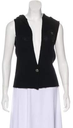 Faith Connexion Wool Appliqué Vest