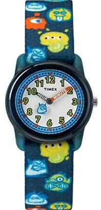 Timex Boys TW7C25800 Time Machines Elastic Fabric Strap Watch