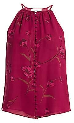 Joie Women's Galletha Silk Floral Halter Top